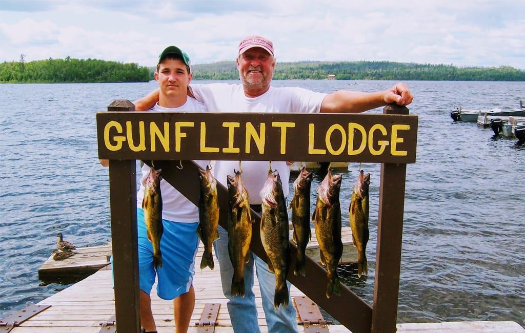 Activities gunflint lodge for Fish rock rentals